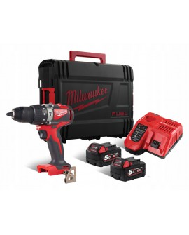 Wiertarko-wkrętarka udarowa akumulatorowa 82 Nm M18 BLPD2-502X MILWAUKEE 4933464517