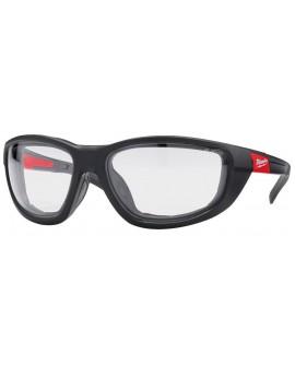Okulary ochronne premium bezbarwne z uszczelką  MILWAUKEE 4932471885