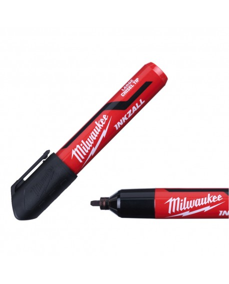 Marker czarny gruby typ L INKZALL MILWAUKEE 4932471555