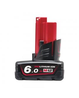 M12 B6  6,0 Ah akumulator MILWAUKEE 4932451395