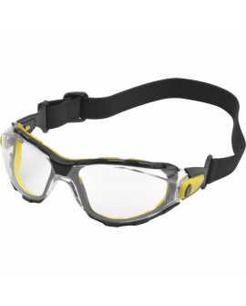 DELTA PLUS Okulary Ochronne PACAYA CLEAR STRAP