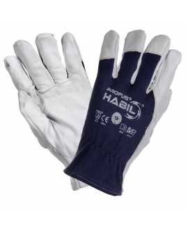 Rękawice ochronne z koziej skóry HABIL