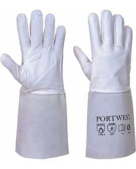 Rękawice spawalnicze TIG Premium Portwest A520