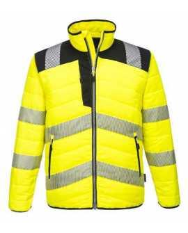 Portwest PW371 lekka ocieplana kurtka robocza ostrzegawcza NOWOŚĆ