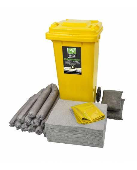 Zestaw sorbentów pochłaniający chemikalia 120 litrów PORTWEST