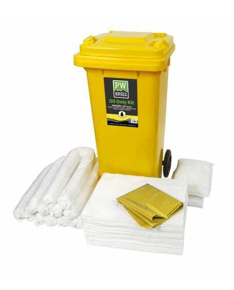 Zestaw sorbentów pochłaniający chemikalia olejowe 120 litrów PORTWEST