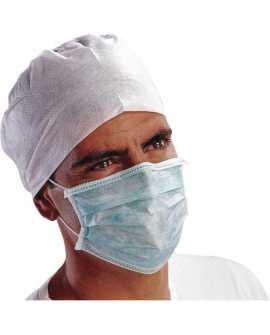 Maseczki chirurgiczne medyczne trzywarstwowe 50 szt