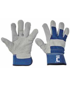 12 PAR - Rękawice wzmacniane grubą dwoiną EIDER rozmiar 9