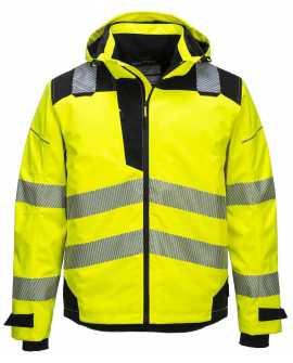 Wodoodporna i oddychająca Kurtka PW360 żółto - czarna  Portwest