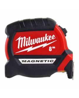 TAŚMA MIERNICZA PREMIUM MAGNETIC 8 M, Milwaukee 4932464600