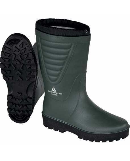 Zimowe wysokie buty robocze wodoodporne śniegowce FROST OB SRA Delta plus